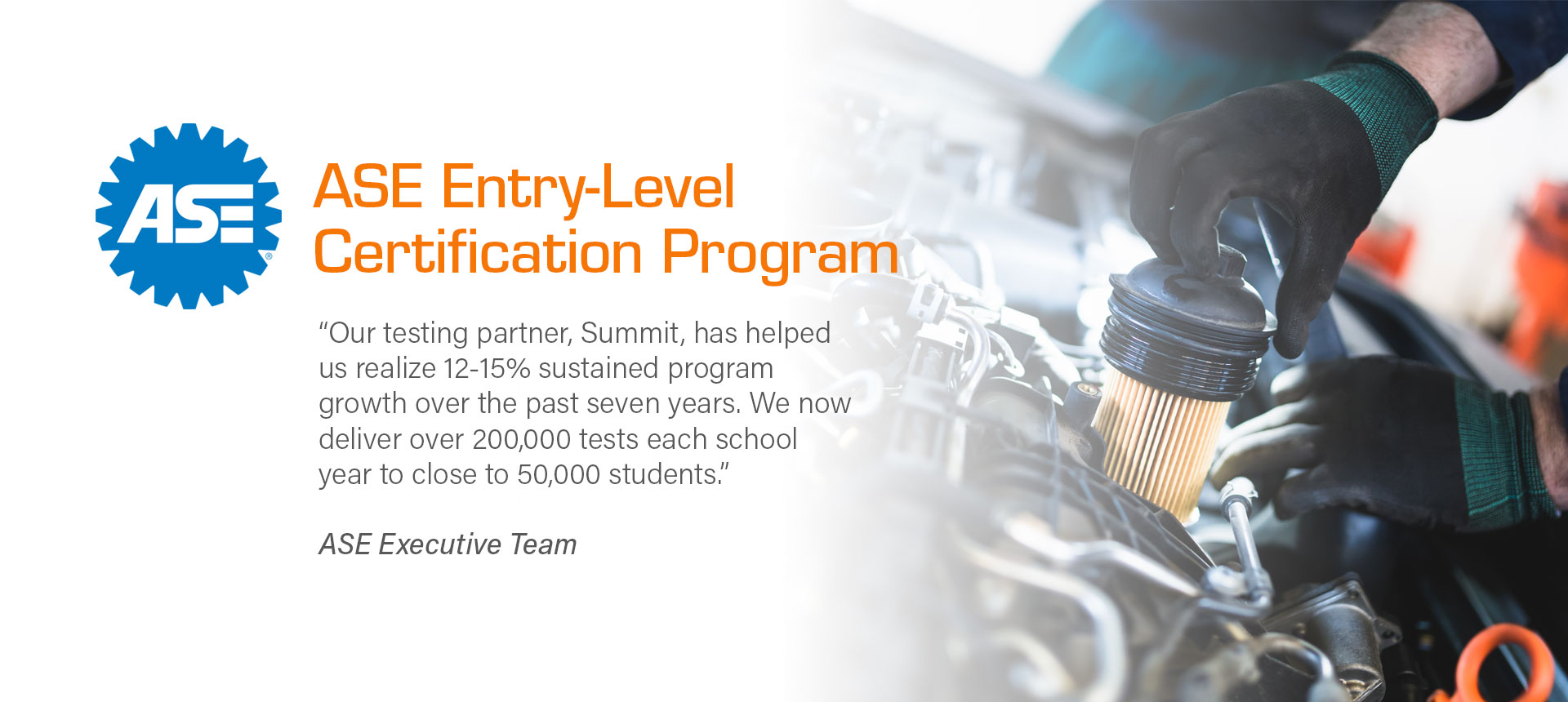 ase excellence automotive certification